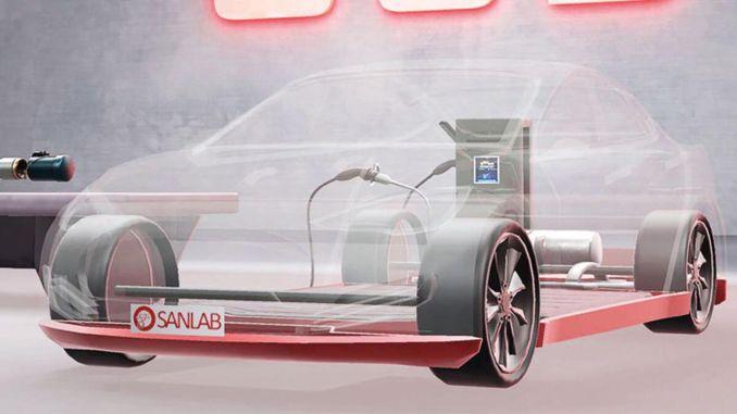 lokale Masterlösung für Elektrofahrzeuge