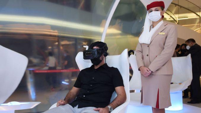 Mikel Artetai, technischer Direktor von Arsenal FC, zu Gast im Emirates Expo Dubai Pavilion