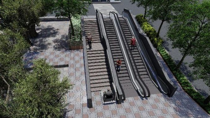 pedestrian access will be easier on the street of Hatay