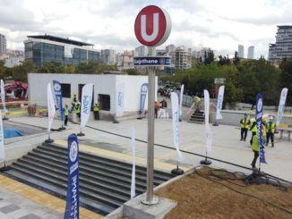 इस्तांबुल में, यहां तक कि रेल प्रणाली निर्माण कार्य भी जारी है