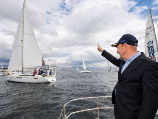 Izmir Arkas Gulf Races begannen mit dem Start von Präsident Soyer