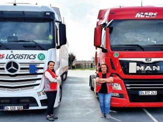 انطلقت سائقات الشاحنات الإناث مع شركة مارس للخدمات اللوجستية