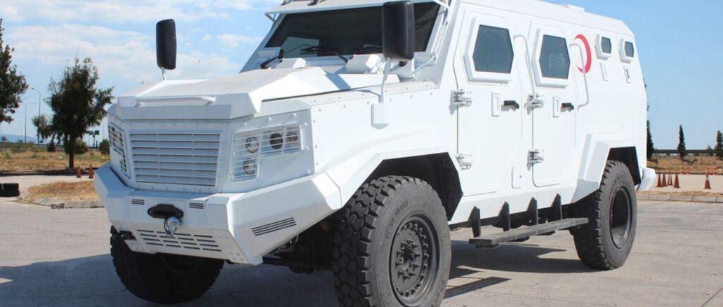 Izvoz Hizir i X oklopnih vozila hitne pomoći iz Katmercija u Urugvaj