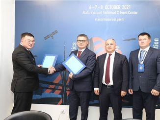 È stato firmato un protocollo tra la compagnia nazionale di kirgiz temir jolu e tcdd transport