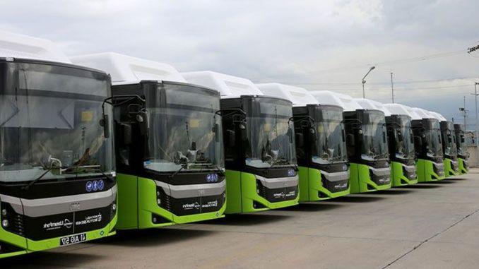 Kocaeli Buyuksehir continue de développer sa flotte de bus dans le transport