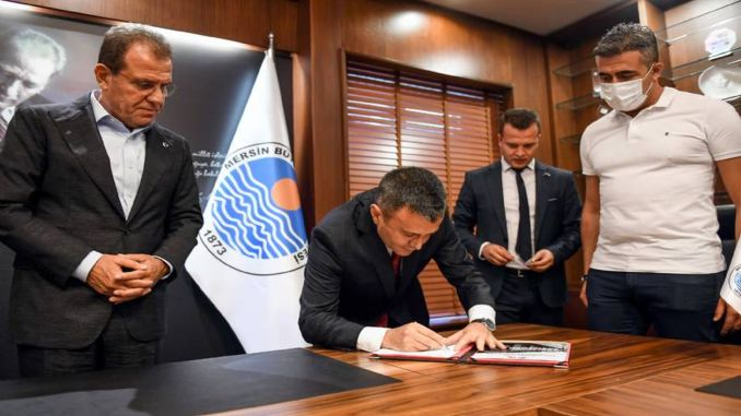 Signatures were signed in Mersin metro project