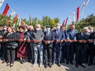 odemis prydplanter planteskoleudstilling startede med en ceremoni