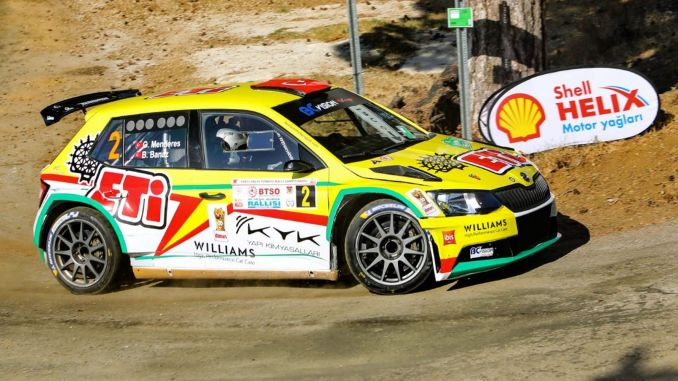rally excitement is carried to the Aegean