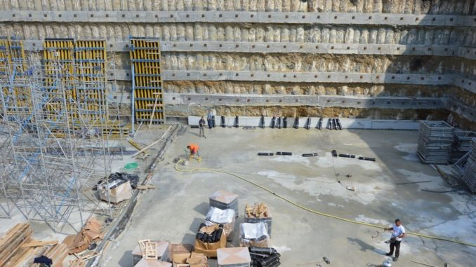 samsun basin district gets a multi-storey mechanical parking lot