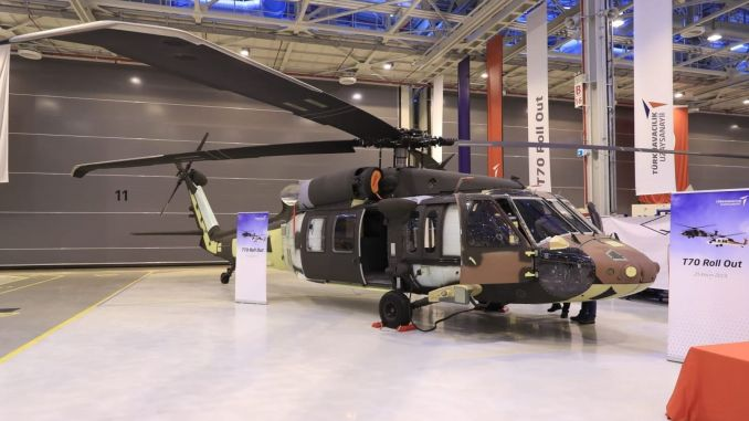 t utility helicopter very close to first flight