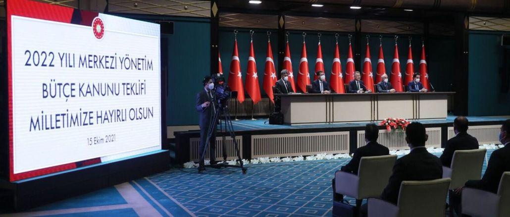 Turkey's defense and security budget billion lira