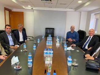 utikad traf sich mit den Beamten des Logistikzentrums diarybakir