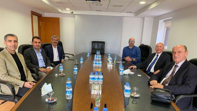 utikad diyarbakir lojistik merkezi yetkilileri ile gorustu