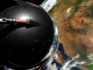 Unvergessliche Akteure von Weltraumrennen auf der NASA Interactive Space Exhibition