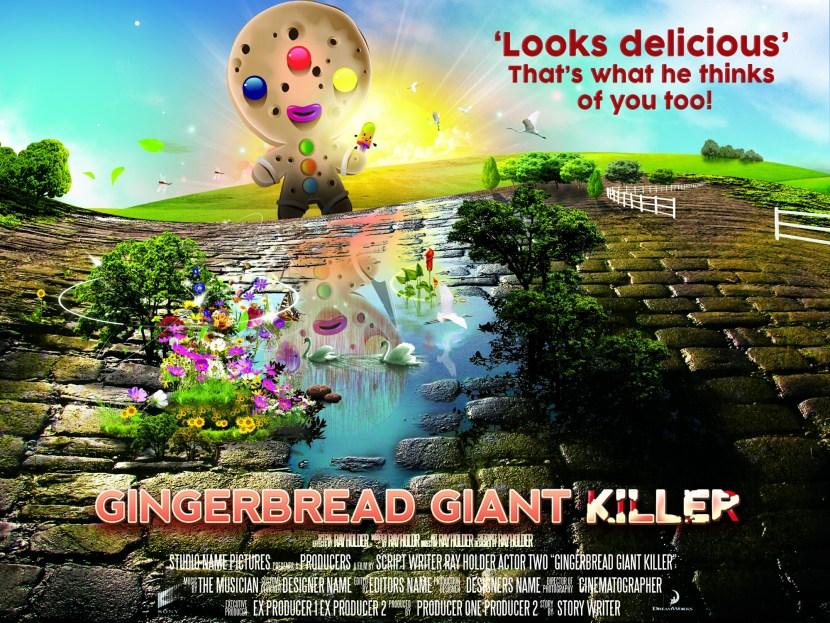 gingerbreadman poster