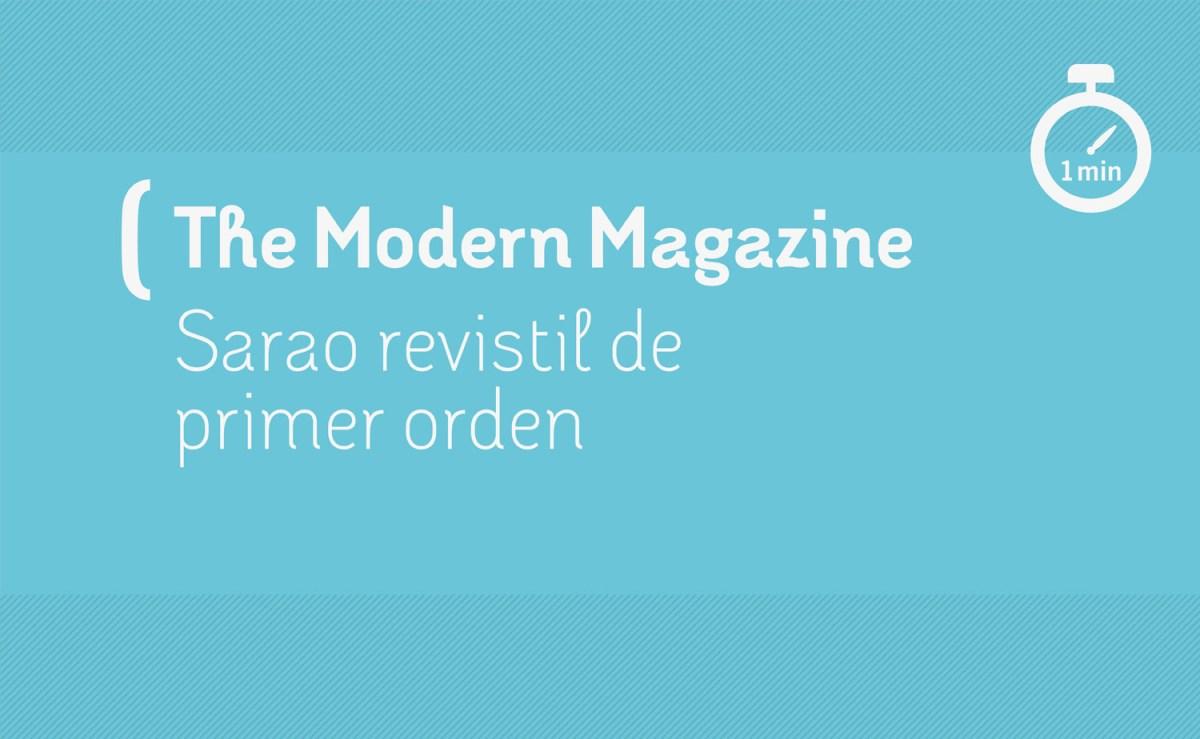 The Modern magazine 2016