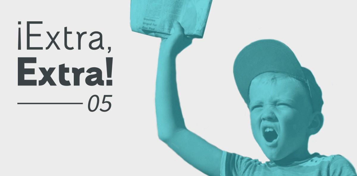 Extra Extra 05 Rayitas Azules