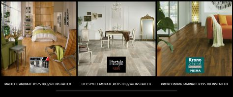 Rayjees Laminated Flooring Specials Johannesburg