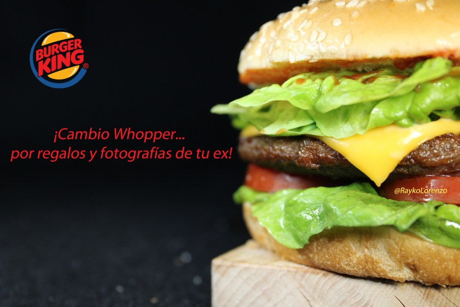 burger king san valentín