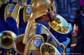 St. Augustine's Marching 100.