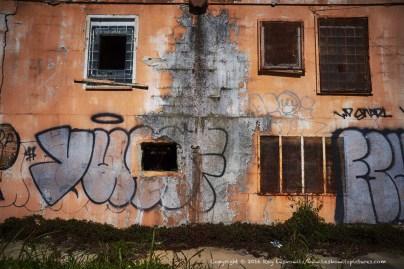 A little graffiti.