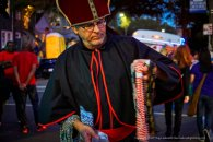 The bishop and his beads.