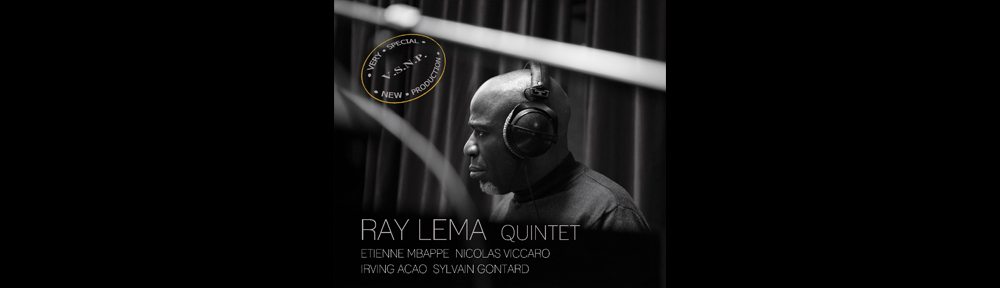 Ray Lema Quintet new album - w/Ray Lema : piano, Etienne Mbappe : bass, Nicoals Viccaro : drums, irving Acao : Sax ; Sylvain Gontard : trumpet