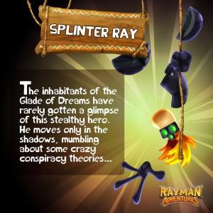 Splinter Ray RayWiki The Rayman Wiki