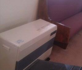 These heaters were part of a small miracle that God did for a church in Sendai.