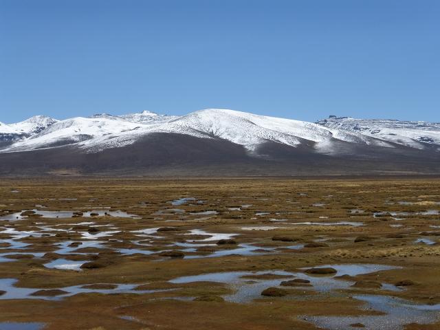 atemberaubende Landschaft auf dem Weg nach Chivay