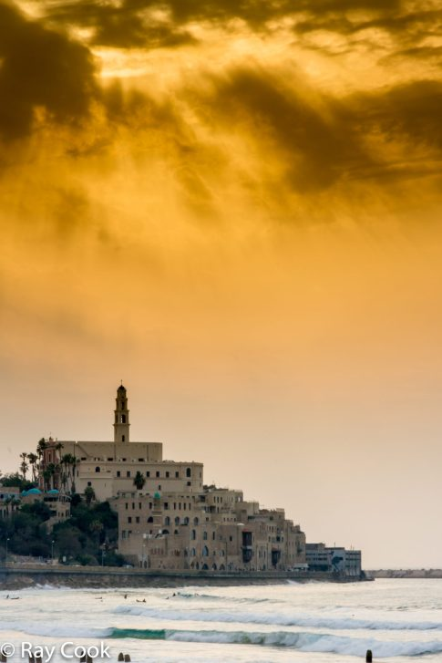 Jaffa at sunset, Israel