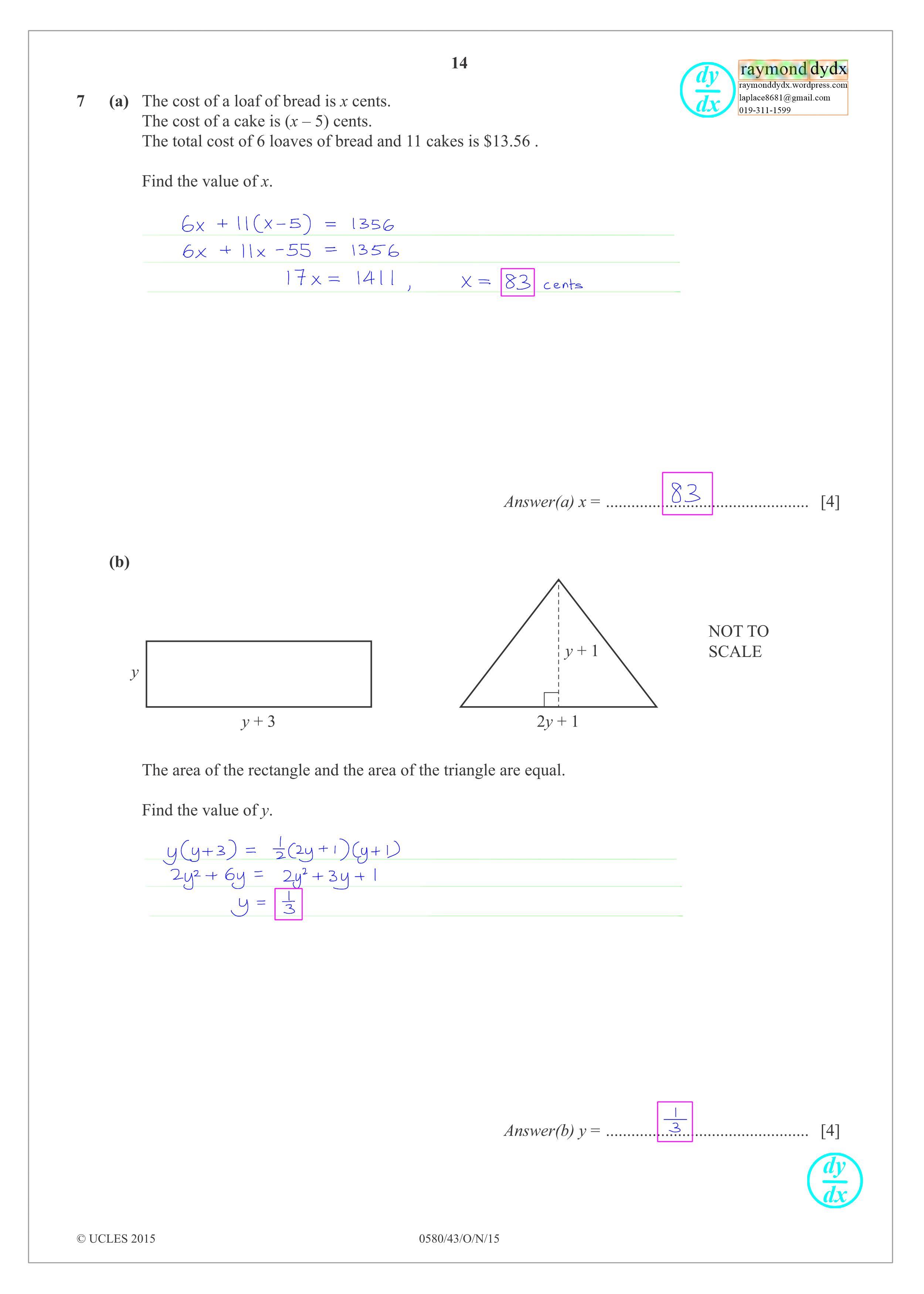 Tuition Maths