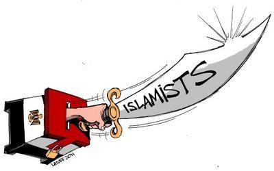 Islamists cartoon
