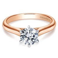 Rose Gold Solitaire Engagement Rings | www.imgkid.com ...