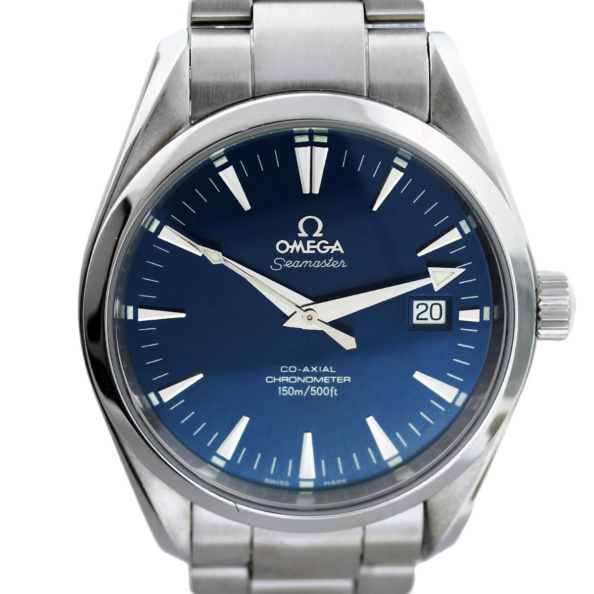Omega Seamaster CoAxial Aqua Terra Skeleton Back Mens Watch
