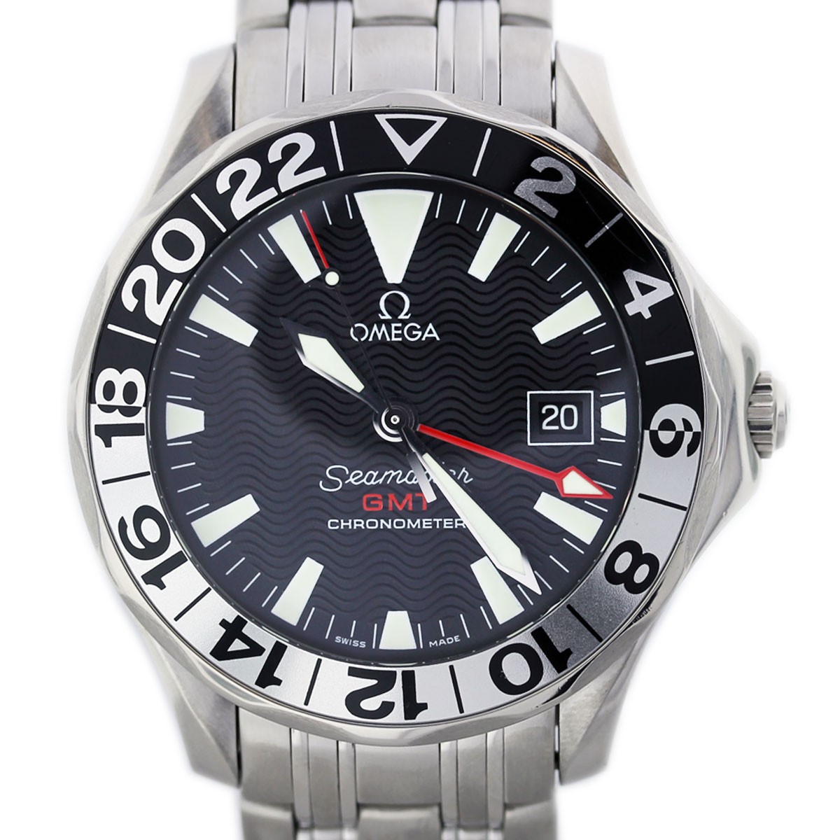 Omega Seamaster 253450 GMT 50th Anniversary Edition Watch