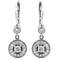 Penny Preville Pave Diamond Dangle Drop Earrings