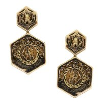 Charriol Celtique Collection Octagonal Dangle Earrings ...