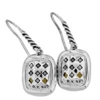 David Yurman Citrine Noblesse Diamond Earrings
