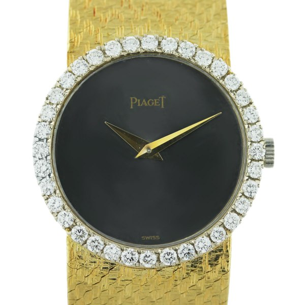 Piaget Vintage Diamond 18k Yellow Gold Ladies Watch-boca Raton