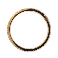 18k Rose Gold Diamond Stackable Ring-Boca Raton