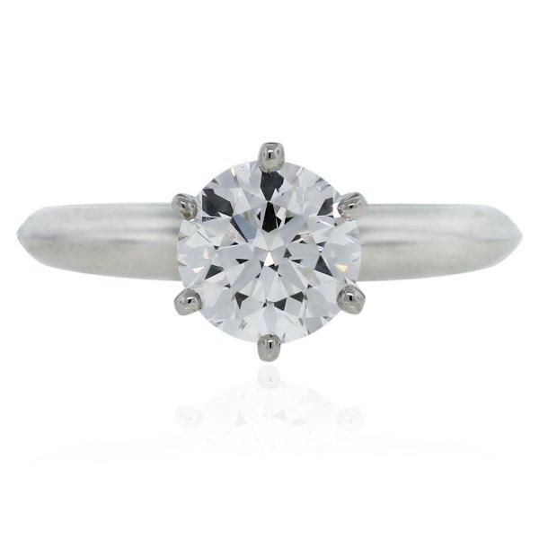 Tiffany And . Brilliant Diamond Platinum