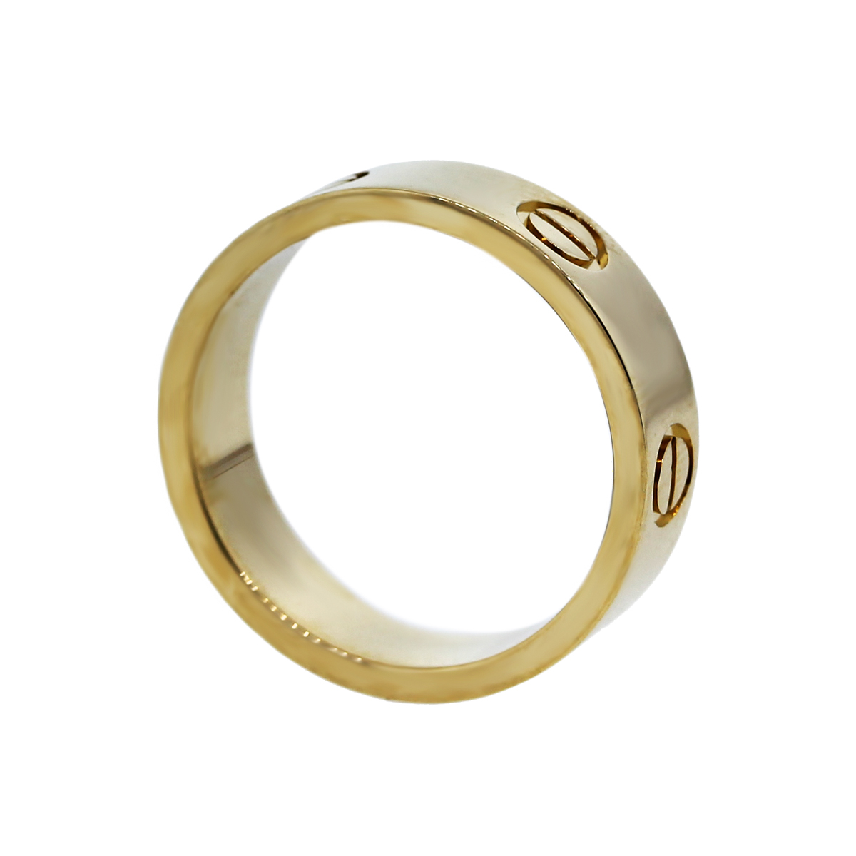 Cartier 18K Yellow Gold Love Ring Size 54