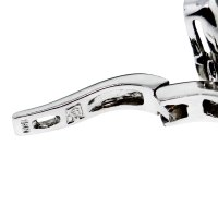 14kt White Gold Garnet Drop Dangle Earrings-Boca Raton