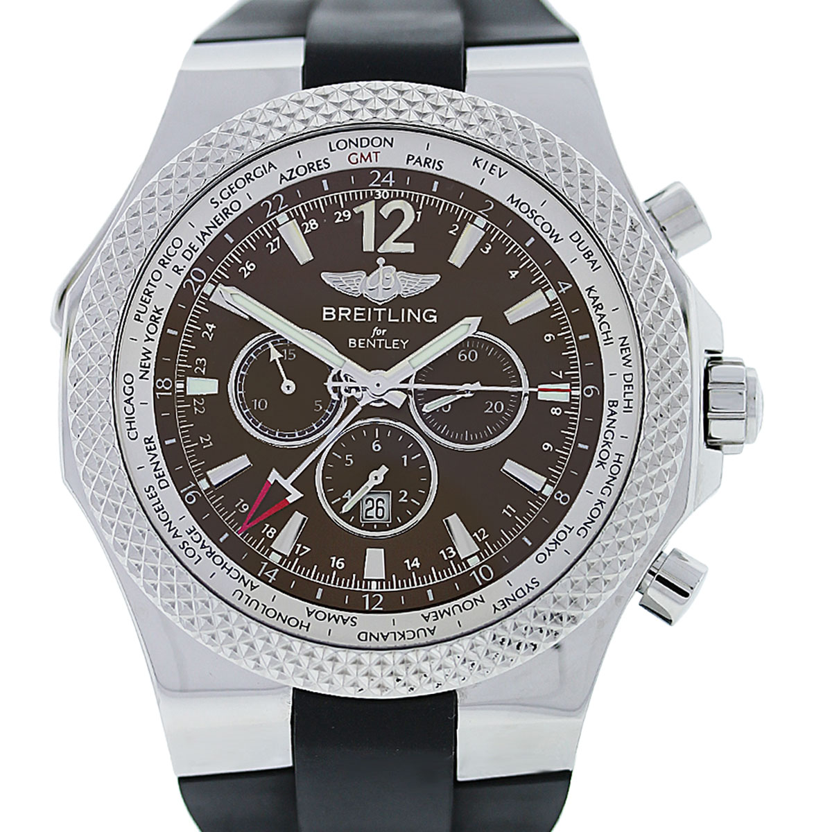 Breitling For Bentley A47362 Special Edition GMT World