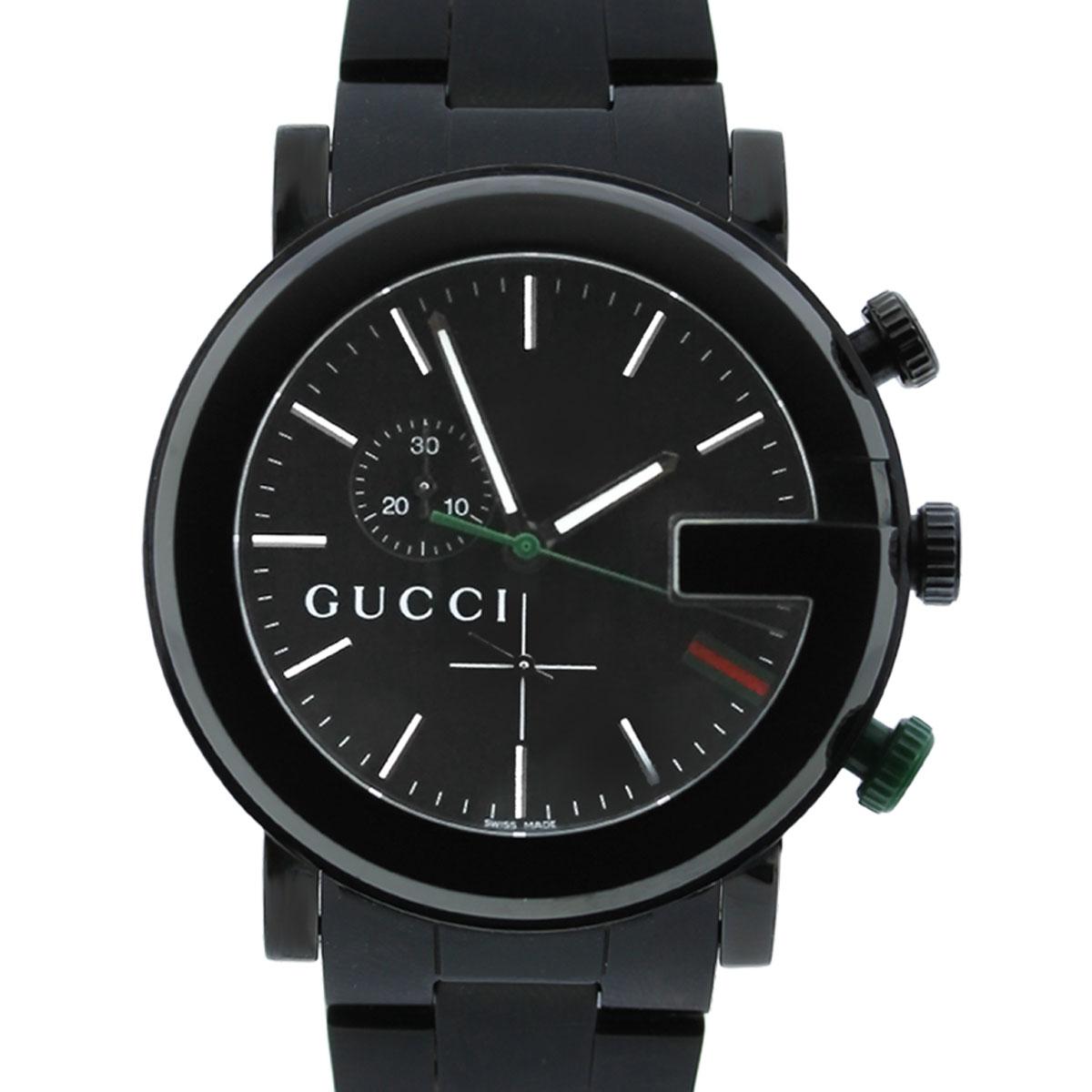 Gucci 101M Chronograph Black Dial Mens Watch  Boca Raton