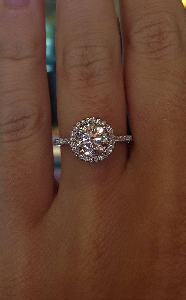 Image Result For Wedding Rings Round Cut