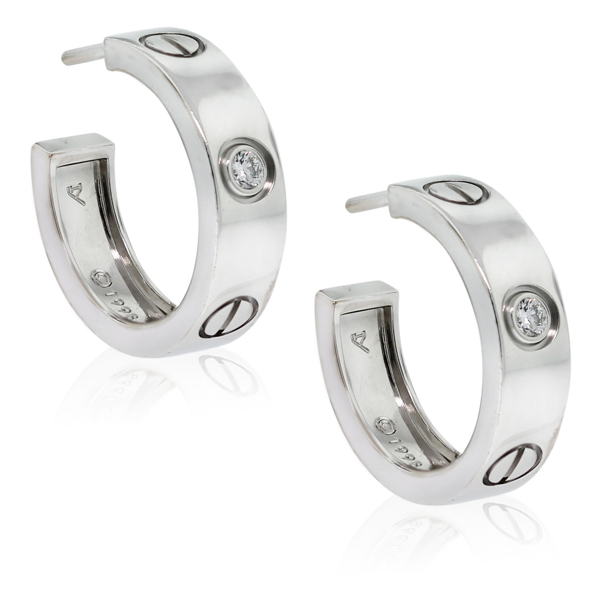 Cartier Love Earrings