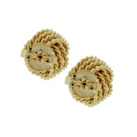 Tiffany & Co. 18k Gold Knot Earrings