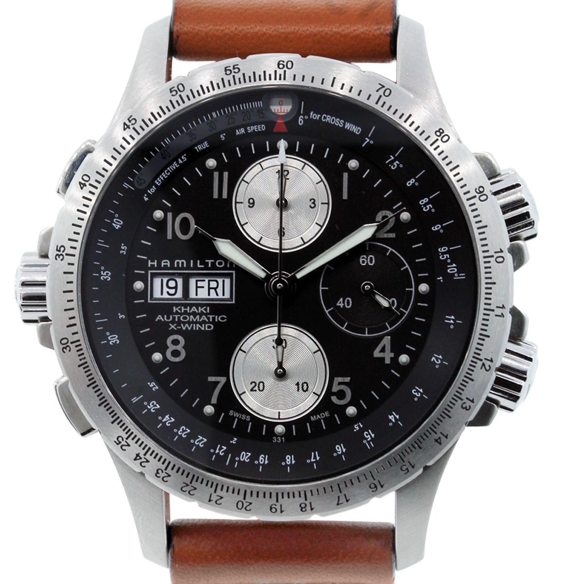Hamilton H77616533 XWind Khaki Chronograph Watch